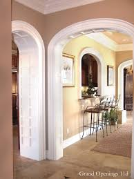 recessed panels interior archway moulding