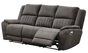 Dual Reclining Sofa Sueded Microfiber Dual Reclining Sofa The Dump America S