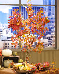 Fall Tree Decorations Create A Centerpiece To Complete Your Fall Table The Jacaranda