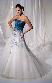 silver wedding dresses blue and silver bridesmaid dresses idea designers