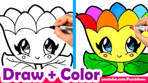 learn to draw a rainbow flower for mom mum cute easy youtube