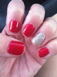 unique nail polish trends one finger different color for nail