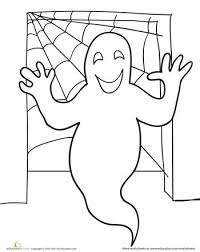 52 ghost images halloween coloring pages