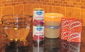 cranberry applesauce jello recipe