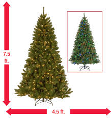 national tree company 7 5 ft valley spruce artificial