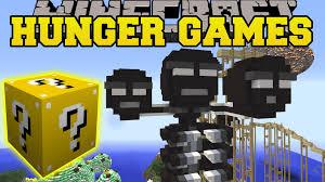 minecraft madness medley hunger games lucky block mod modded