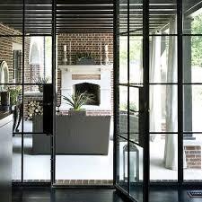 Patio Door Frames Black Doors Design Ideas