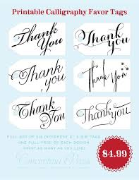 favor tags set of 6 printable thank you gift tags by concertina p