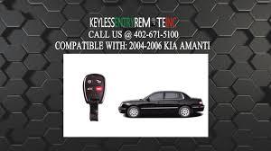 2003 kia amanti how to replace kia amanti key fob battery 2004 2005 2006 youtube