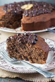 chocolate chip banana cake one delicious recipe