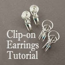 how to make clip on earrings 261 best earings images on