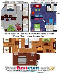 resort floor plan review the family suites at disney s all star music resort