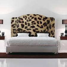 leopard headboards decal animal print wall headboard zoom