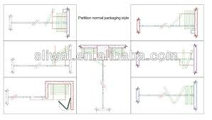 Movable Wall Partitions China Manufacturer Aluminium Movable Wall Board For Wall Movable
