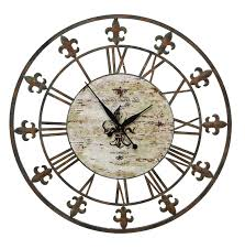 home design large wall clocks infinity instruments ltd inside