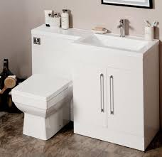 Gloss White Vanity Unit L Shaped 1100mm Gloss White Vanity Unit And Wc Combination Rh