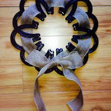 horseshoe wreath shop horseshoe decor on wanelo