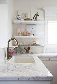 Marble Kitchen Designs Marble Kitchen Shelves Design Ideas