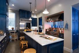 Painted Kitchen Cabinet Ideas Freshome How To Incorporate Indigo Into Your Home Freshome