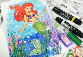 princess ariel coloring book mermaid coloring kids