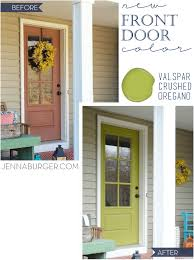 front door new style new color jenna burger