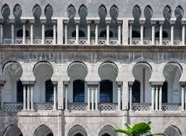 moorish architecture moorish architecture in malaysia stock photo picture and royalty