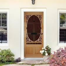 decadent screen door design in wood or vinyl u2013 in u0026 out home products