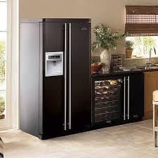 cuisine frigo americain frigo américain armoire à vin h o m e frigo