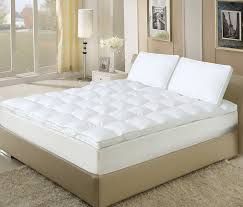 Feather Mattress Topper Review U0026 1 Best Fiberbed Down Alternative Mattress Topper Reviews