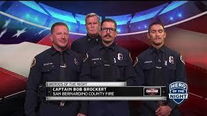 The Challenge Hero Of The Night San Bernardino County Fire Nbc