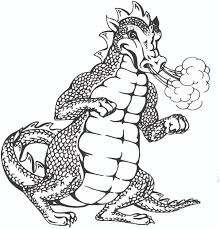 dragon clipart black and white free clip art images freeclipart pw