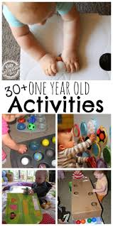 30 busy 1 year old activities kids activities