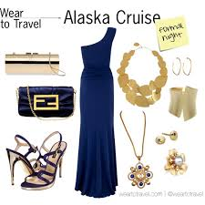 Alaska travel dresses images Alaska cruise formal night a nautical navy blue gown with gold jpg