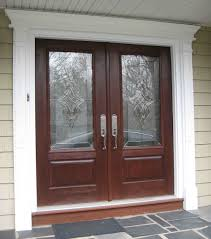 accessories outstanding dark cherry wood single front door with