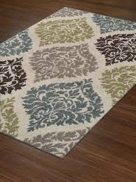 Modern Rugs 8x10 Modern Contemporary Rug Large 8x10 8 2 X10 Ivory Teal Brown