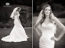 rock quarry garden bridal portrait session