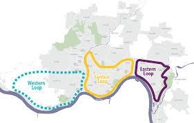 Map Of Cincinnati Ohio by Green Umbrella Cincinnati Connects