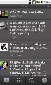tweetdeck android tweetdeck for android sizzled android media