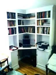 Computer Desks With Storage Office Corner Shelf Computer Desks With Shelves Office Corner