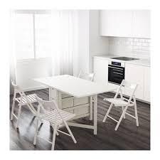 White Folding Dining Table Ikea Gateleg Table White Foldable Dining Table 2 Chairs