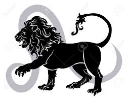 Astrology Sign Leo The Lion Zodiac Horoscope Astrology Sign Royalty Free Cliparts