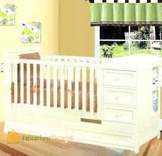 Convertible Crib Changing Table Convertible Crib And Dresser Combo Crib Changing Table Dresser