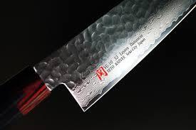 vg10 kitchen knives iseya i series 33 layer vg 10 damascus hammered chef knife gyuto