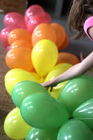 decorating with balloons banners tutorials and birthdays
