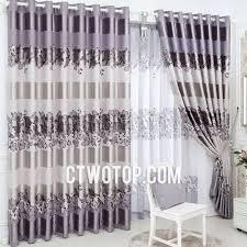 Heavy Grey Curtains Light Purple Beige Cheap Floral Striped Modern Heavy Curtains