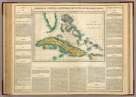 Bahama Islands Map Map Of Cuba And The Bahama Islands David Rumsey Historical Map