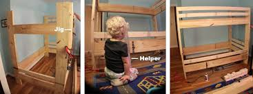 Bunk Bed Side Rails How To Make Bunk Beds Part 2 I Like To Make Stuff