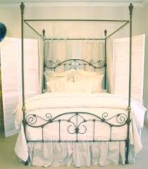 Iron Canopy Bed Brass Beds Of Virginia Br Iron Canopy Bed