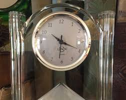 Battery Operated Desk Clock Lenox Clock Etsy