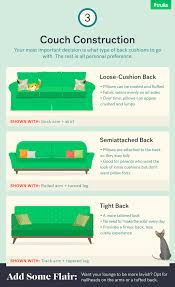 infographic how to buy a couch u2014 life at home u2014 trulia blog